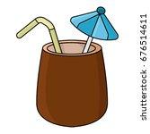 coconut | Shutterstock .eps vector #676514611