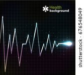 medical black template with... | Shutterstock .eps vector #676548049