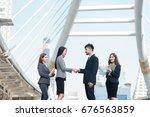 selective focus young...   Shutterstock . vector #676563859