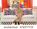 june 2016   tory burch posing... | Shutterstock . vector #676577719