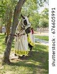 dukora  republic of belarus  ... | Shutterstock . vector #676605991