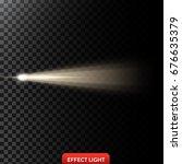 vector illustration of a golden ... | Shutterstock .eps vector #676635379