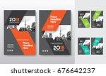 city background business book... | Shutterstock .eps vector #676642237