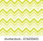 vintage yellow zigzag chevron...   Shutterstock .eps vector #676650601
