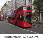 london  uk   circa june 2017 ... | Shutterstock . vector #676665895