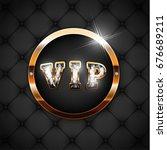 black upholstery  background...   Shutterstock .eps vector #676689211