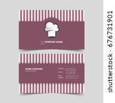 Chef Business Card Design...