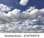 cloudy sky | Shutterstock . vector #676744975