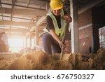 labour | Shutterstock . vector #676750327