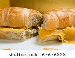 Chicken Sandwich With Onions...