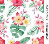 watercolor illustrations of... | Shutterstock . vector #676776349