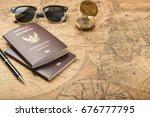 planning travel concept ... | Shutterstock . vector #676777795
