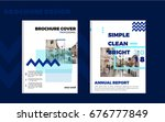 brochure layout design template ...   Shutterstock .eps vector #676777849