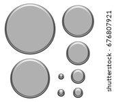 semi gloss silver chrome... | Shutterstock . vector #676807921