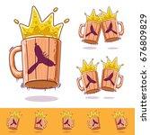 beer mug  beer icon oktoberfest ... | Shutterstock .eps vector #676809829