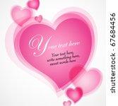 valentines day illustration...   Shutterstock .eps vector #67684456