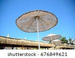Holiday Resort  Straw Umbrella...