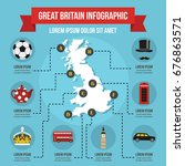great britain infographic