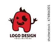 monster logo | Shutterstock .eps vector #676866301