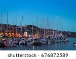italy  boats in the sanremo...   Shutterstock . vector #676872589