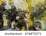 united states army ranger... | Shutterstock . vector #676875271