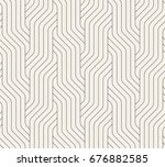 vector seamless pattern.... | Shutterstock .eps vector #676882585