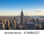 new york city  united states  ... | Shutterstock . vector #676886227