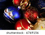 christmas decoration  ... | Shutterstock . vector #6769156
