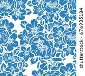 abstract elegance seamless... | Shutterstock .eps vector #676935184