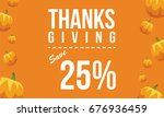 collection thanksgiving... | Shutterstock .eps vector #676936459