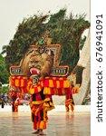 jakarta  indonesia   april 23 ... | Shutterstock . vector #676941091