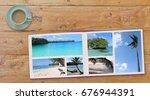 banner photobook album with...   Shutterstock . vector #676944391