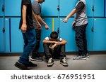 Boy Student Getting Bullied In...