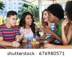 controversy of international... | Shutterstock . vector #676980571