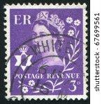 great britain   circa 1973 ... | Shutterstock . vector #67699561