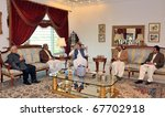 Small photo of LAHORE, PAKISTAN - DEC 22: Muslim League-N Chief, Nawaz Sharif, in meeting with Sardar Ali Gohar Khan Mahr, Renowned Politician from Sindh, on December 22, 2010 in Lahore, Pakistan.