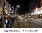 los angeles  california  usa  ... | Shutterstock . vector #677054359