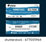 template for event winning... | Shutterstock .eps vector #677055964