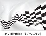 race flag wave  waveing...