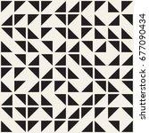 vector random shapes seamless... | Shutterstock .eps vector #677090434