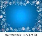 christmas card | Shutterstock . vector #67717573