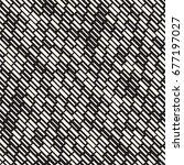 vector seamless black and white ... | Shutterstock .eps vector #677197027