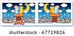 new year postal with the image... | Shutterstock . vector #67719826