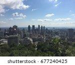 skyline of montreal | Shutterstock . vector #677240425