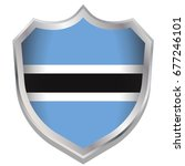 a shield illustration with the... | Shutterstock .eps vector #677246101