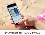 rosario  argentina   january 14 ... | Shutterstock . vector #677259439