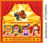 vector design of poster for... | Shutterstock .eps vector #677265901