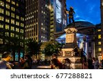 montreal  canada   may 27  2017 ... | Shutterstock . vector #677288821