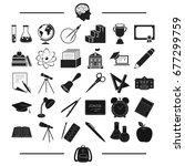 university  education ... | Shutterstock . vector #677299759