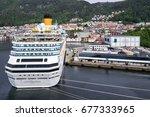 bergen  norway   june 6  2017 ... | Shutterstock . vector #677333965